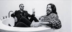 Chris Shiflett, Taylor Hawkins, Ringo Starr, Dave Grohl, Abbey Road, Music Pictures, Foo Fighters, Van Halen, Indie Music