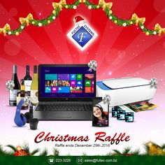 🎄Fultec Systems' Annual Christmas Raffle!🎁 For every $50 spent, get the chance to win one of five great prizes to be collected on Thursday, December 29th 2016.  #FultecSystems #TechtheHalls #ChristmasSale #ChristmasRaffle #ChristmasGiveaway