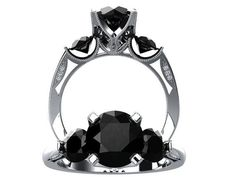 Modern inspired 14k white gold 1.25 ct VVS by WinterFineJewelry, $1430.00