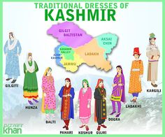 Traditional Dresses of Kashmir The culture of Kashmir refers to the culture and traditions of Kashmir, a region in northern India (consisting of Jammu a. Traditional Dresses of Kashmir Pakistani Outfits, Indian Outfits, Pakistani Clothing, Indian Dresses, Closet Colors, Pakistan Travel, Bridesmaid Dresses Online, Beautiful Hijab, Traditional Dresses