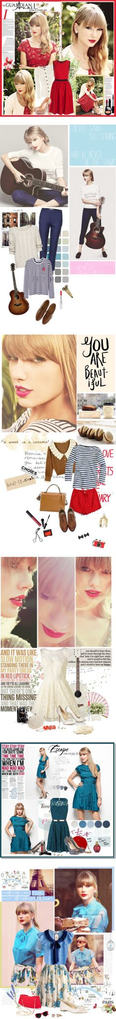 """""""RED"""" by lovelypao ❤ liked on Polyvore"""