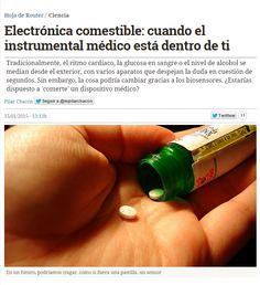 Electrónica comestible : cuando el instrumental médico está dentro de ti / @hojaderouter | #sci #tech #inn