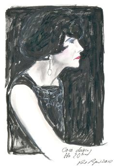 Karl Lagerfeld   Sketches