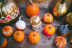 Fall party ideas   Real Weddings and Parties   100 Layer Cake