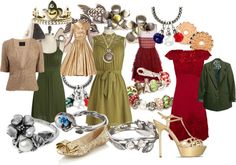 """Winter hues - Holiday Cheers!"" by mytrollbeads on Polyvore"