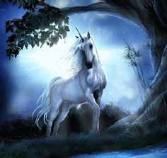 3D Animated Gifs | 3D Animated Long Hair Horse Wallpaper