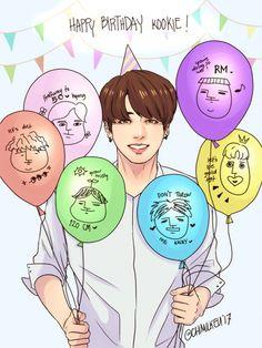 """happy 21st birthday, jungkookie~ ! """