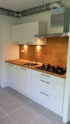Onze nieuwe keuken!  Met wokbrander!