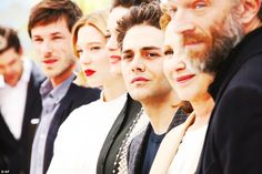 nowhollywood:  Gaspard Ulliel Lea Seydoux Marion Cotillard Xavier Dolan Nathalie Baye and Vincent Cassel at a photocall for Juste la fin du monde during 69th Cannes Film Festival | 19.05.2016