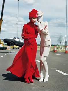 "Malgosia Bela in ""High-Style"" by Tim Walker for Vogue Italia September 2010"