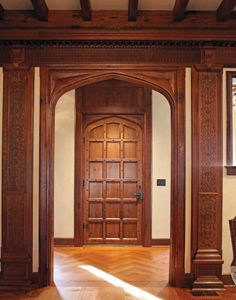 Tudor Interior Design The Nearly Untouched Great Room Is