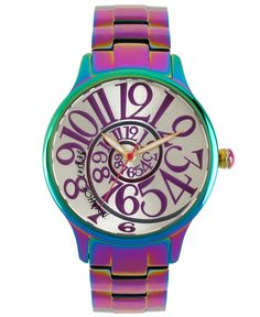 Betsey Johnson- This watch makes me so incredibly happy, I need to buy it ASAP.