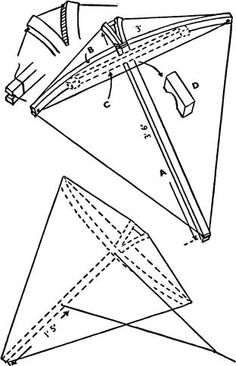 how to make a butterfly kite