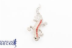 Red Sparkling Gecko Pin Red Sparkling Gecko Pin,Jewelry & Watches, All Fashion Jewelry,Value,Sale
