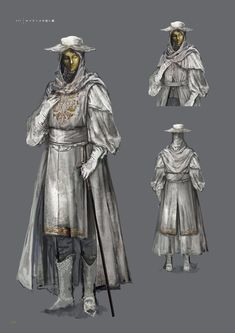 View an image titled 'Pale Shade Set Art' in our Dark Souls III art gallery featuring official character designs, concept art, and promo pictures. Dark Fantasy Art, High Fantasy, Arte Dark Souls, Dark Souls Armor Sets, Bloodborne Art, Bloodborne Concept Art, Soul Art, Character Design Inspiration, Fantasy Characters