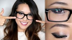 11makeup tips for wearing makeup with glasses