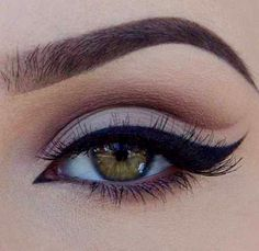 beautiful, black eyeliner, colored eyes, cute, eye, eyebrows, eyeliner, eyes, girls, girly, gorgeous, green eyes, love it, lovely, makeup, mascara, pretty, shimmer, we heart it, on point, eyebrows on fleek, faded eyeshadow, curled lashes, white eyeshadow