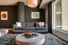 Attractive Interior Design Achieved In An Elegant And Stylish Apartment
