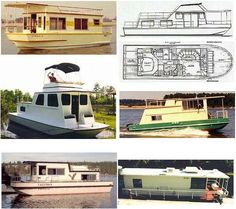 Houseboat Plans   Houseboat Plans on How to Build a Houseboat, with free plans as a ...