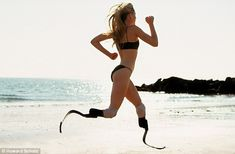 Is there anything she can't do? Meet the extraordinary Aimee Mullins, the model, actress AND Olympic athlete  article: http://j.mp/w6eCiJ TED video:  http://j.mp/AEN77O