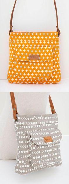 Jeannie Bag PDF Pattern - ithinksew.com