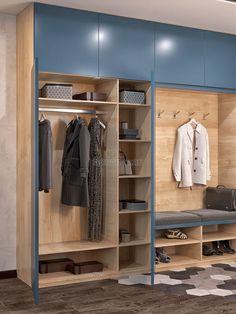 Porch Storage, Hallway Storage, Corner Wardrobe, Wardrobe Doors, Shoe Room, Bedroom Cupboards, Hall Design, Wardrobe Design, Paint Colors For Home