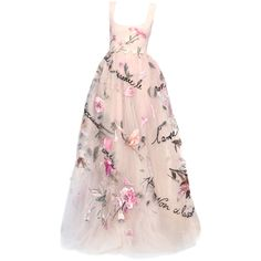 satinee polyvore.com - Valentino Haute Couture 2015 ❤ liked on Polyvore featuring dresses, gowns, evening gowns, masquerade ball gowns, pink evening dress, women dresses and pink ball gown