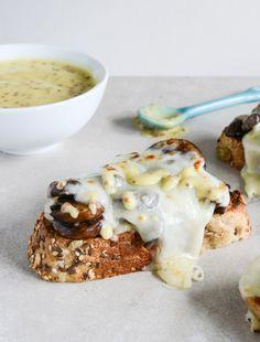 Mushroom Melt w/ Mustard Aioli