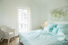 Einrichtung Schlafzimmer einer Ferienwohnung