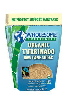 Wholesome Sweeteners Organic Turbinado