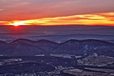 """Eastern Panhandle Sunrise"" - Rocket Center, West Virginia - by BK Photography"