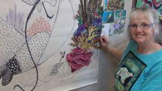 making an art quilt Quilt Tutorials, Art Tutorials, Applique Tutorial, Quilt Top, Couture, Textile Art, Collage Art, Quilt Blocks, Make It Yourself