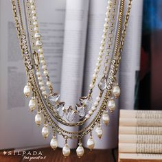 K & R Practical #Pearls Necklace: So versatile, 7 ways to wear it!