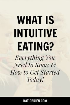 What is Intuitive Eating Everything you need to know and how to get started today Mindful eating Eat with intention Mindfulness Wellness tips Health tips Body positivity. Nutrition Tips, Health Tips, Health Benefits, Wellness Tips, Health And Wellness, Mental Health, Compulsive Eating, Eating For Weightloss, Eating Disorder Recovery