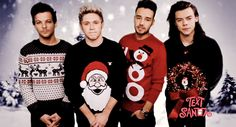 christmas, louis tomlinson, and Harry Styles resmi