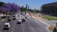 Recoleta Traffic Buenos Aires - Stock Footage | by buclefilm