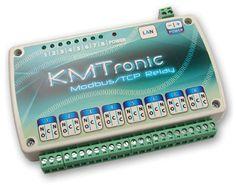 LAN Ethernet IP 8 channels Modbus/TCP Relay board