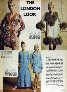 Jean Muir - Article de Presse - London Fashion - 1967