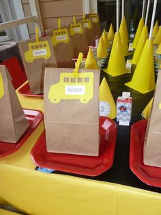 Hostess with the Mostess® - School Bus Party