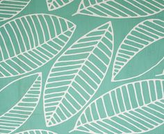 Frangipani White on Aqua | Design Team