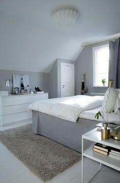 House of Philia Attic Bedroom Designs, Room Ideas Bedroom, Small Room Bedroom, Home Bedroom, Bedroom Decor, Bedroom Furniture, Bedrooms, House Of Philia, Dream Rooms