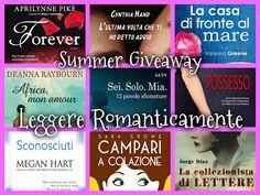 Leggere Romanticamente e Fantasy: Summer Giveaway con libro a scelta!