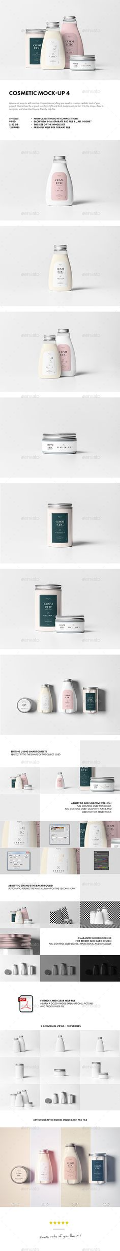 Cosmetic Mock-up #design Download: http://graphicriver.net/item/cosmetic-mockup-4/12815201?ref=ksioks