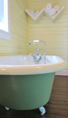 Fogo-Island,-Newfoundland,-Lilly's-Antique-tub Fogo Island Newfoundland, Fogo Island Inn, By Plane, Vacation Home Rentals, Clawfoot Bathtub, Donkey, Bed And Breakfast, Islands, Travelling