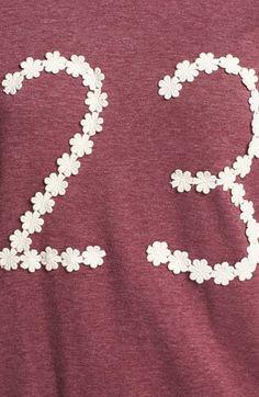 Elodie 'Floral 23' Sweatshirt (Juniors) | Nordstrom