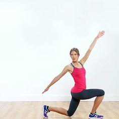 Stretching Lunge #yoga | health.com