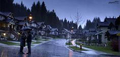 Wayward Pines (A little country in the famous tv show)