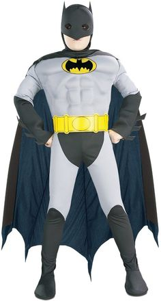 batman with muscle chest toddler / child costume - small