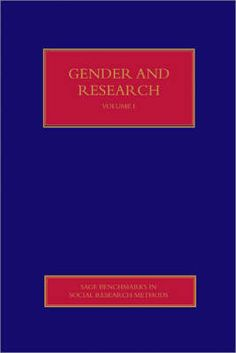 Gender and research / edited by Sara Delamont and Paul Atkinson. Los Angeles : Sage, 2008 -- S2-A-19