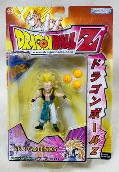 Dragon Ball Z SS3 Gotenks Figure Fusion Saga FUNimation Jakks Pacific ANIME